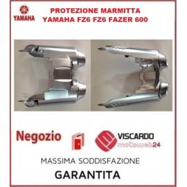 Protezione silenziatore copri scarico Yamaha FZ6 codice 5VX147081000