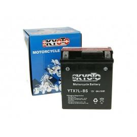 Batteria moto e scooter GTX7L- BS YTX7L-BS 12V 6AH- Honda Yamaha