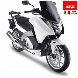Cupolino Parabrezza basso sportivo colore nero per honda integra GIVI D1109B