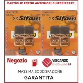 8 Pastiglie freno anteriori sinterizzate Benelli TNT 899 1130cc TORNADO TRE