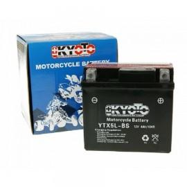 Batteria moto e scooter YTX5L-BS 12v - 4AH  -  GTX5L-BS codice 712050