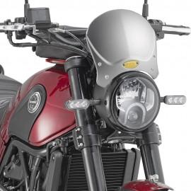 Cupolino Alluminio Anodizzato Givi 100AL + A8704A Benelli Leoncino codice 100AL