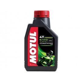 1 Litro olio motore Motul 5100 10W40 lubrificante semi sintetico moto new