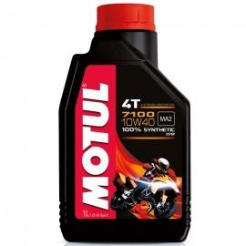 1 Litro olio motore Motul 7100 10W40 4T 100% sintetico MA2 new