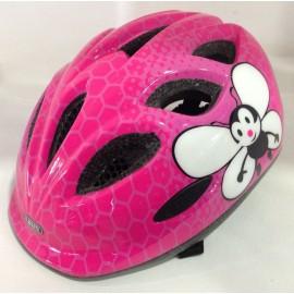 Casco Bici Bambina Abus Ack Smiley Pink Bee