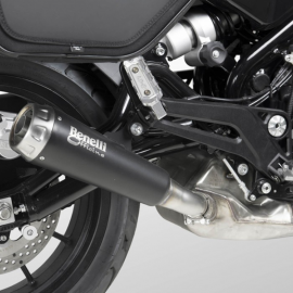 "Terminale ""Dark"" Benelli Officine by Arrow per Leoncino e Leoncino Trail"