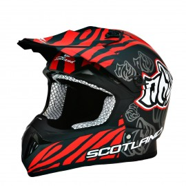 Casco Cross Enduro Motard Quad Scotland codice 120010