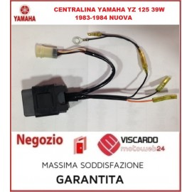 Centralina elettronica CDI Yamaha YZ 125 anno 1983-1984 codice 39W855401000