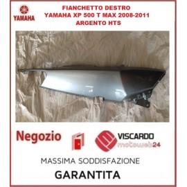Carena fianchetto posteriore destro Yamaha XP 500 T MAX anno 2008/11 silver hts codice 4B52172100WG